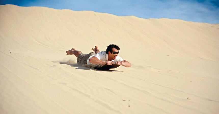 Brisbane Tours - Moreton Island Sandboarding