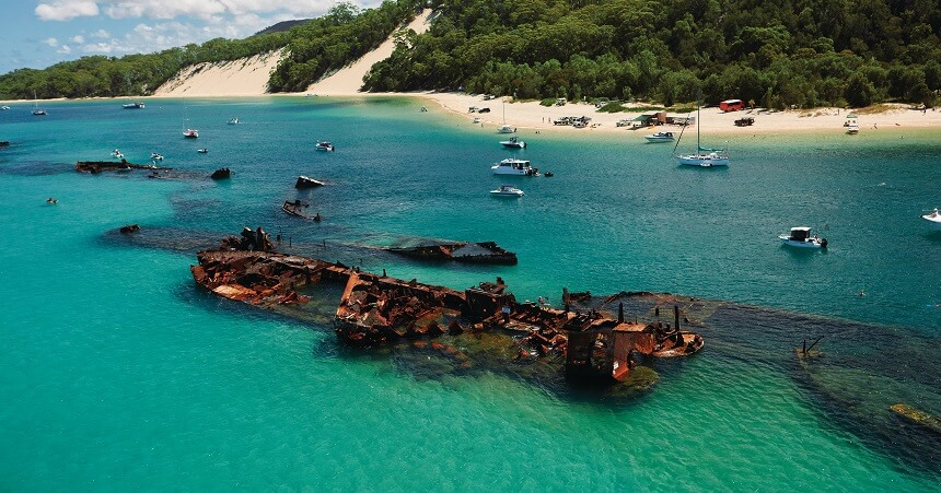 Tangalooma Wrecks Brisbane Tours