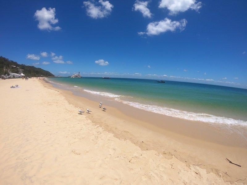 tangalooma island resort beach