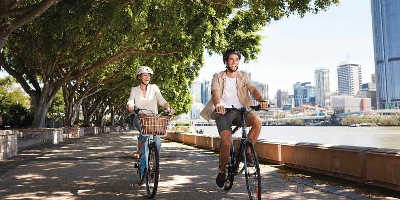 Brisbane City Tour by Bike $69