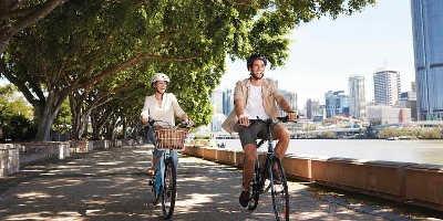 Brisbane City Tour by Bike $69